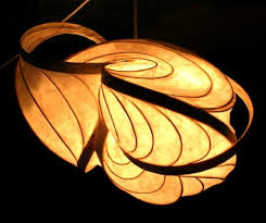 Paper Light Fixtures 134 Best Paper Lamp Images On Pinterest Paper Lamps Lights And