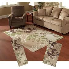 piece area rug sets vaner collection with living room picture