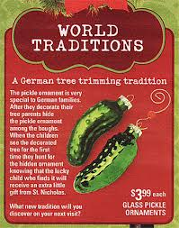 christmas pickle the christmas pickle ornament the german way more