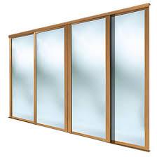 Clear Mirrored Wardrobe 2 Door Sliding Wardrobe Doors Sliding Door Wardrobes Screwfix Com