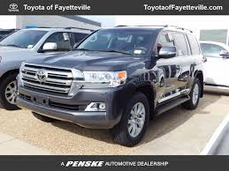 land cruiser 2017 2017 new toyota land cruiser 4wd at toyota of fayetteville serving