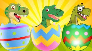 giant dinosaurs surprise eggs cartoons for children super hero