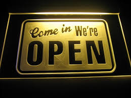 shop open sign lights we re open shop logo beer bar pub light sign automotive