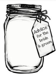 advice cards for and groom diy template for jar and groom advice cards crafts