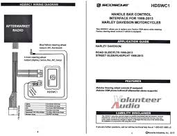 98 2013 harley touring install adapter flht stereo radio flhtc cd