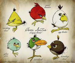 what if darwin had discovered the angry birds species android