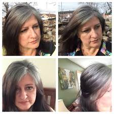 images of grey hair in transisition 61 best gray is the new black images on pinterest going gray