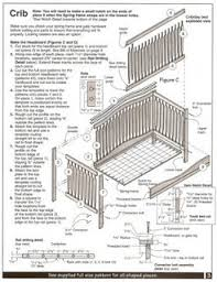 patterns building baby crib sewing patterns for baby