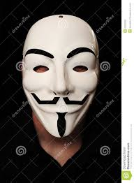 Guy Fawkes Mask Halloween by Anonymous Mask Editorial Image Image 25232005