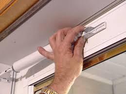 how to install a wood core aluminum storm door how tos diy