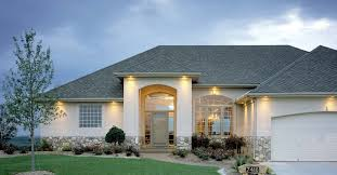 Modern Concrete Home Plans White And Grey Exerior Concrete Home With Dazzling Lights Part Of