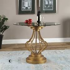 uttermost accent tables uttermost janina gold dimensional accent table rustic mirrors
