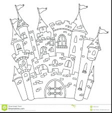 cinderella castle coloring pages printable print free disney sand