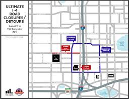 Map Of Downtown Orlando by Ed Sheeran Amway Center