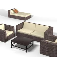 Dedon Outdoor Furniture by Dedon 3d Models For Download Turbosquid