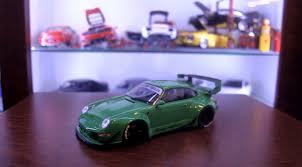 stanced porsche 911 widebody apc rwb e miniatura porsche 911 993 youtube