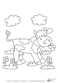 cartoon cow coloring page royalty stock photo image picture of a