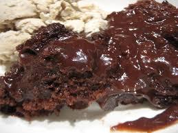 crock pot molten lava cake 4 steps
