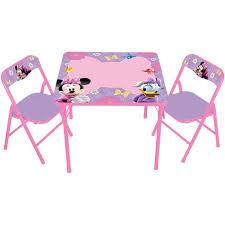 minnie mouse table set disney minnie mouse boutique erasable activity table and chair set