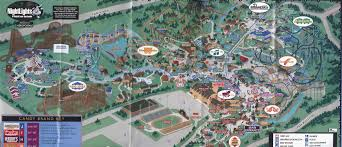 Seaworld Orlando Map Theme Park Page Park Map Archive