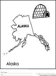 alaska coloring pages coloring home