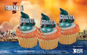 godzilla cake topper godzilla officially licensed cake topper and 24