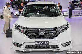 New Honda Crv Diesel Bangkok 2017 Honda Cr V With Modulo Accessories