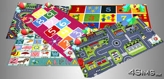 interactive rugs for kids room 5 designs for sims 3 4sims