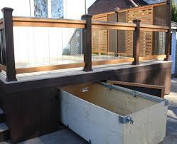 under deck storage box home design ideas