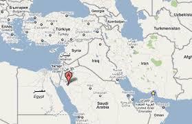 map of tabuk israel on the brink reported secret base near tabuk saudi arabia