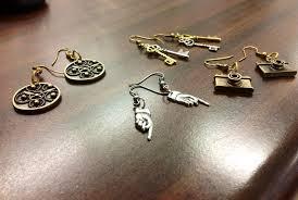unique charm 2 2 shine diy unique charm earrings