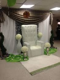 baby shower chair rentals baby chair rental and backdrop design www richeventdecor