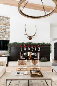 Holiday Home Decorations by A Very Mountain Home Christmas U2014 Studio Mcgee