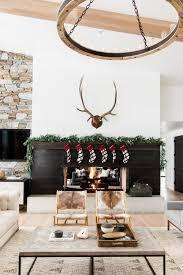 Iron Home Decor A Very Mountain Home Christmas U2014 Studio Mcgee