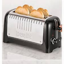 Dualit 6 Slice Toaster Dualit 2 Slot Long Lite Toaster 46025