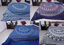 Indian Inspired Bedding Indian Inspired Duvet Covers Indian Peacock Mandala Hippie