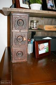 Vintage Desk With Hutch by An Antique Desk Hutch Diy Table And Hearth