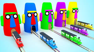 learn colors for children with thomas train stonehouse totem kids