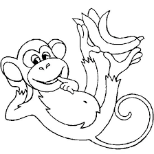 Coloring Pages Of Coloring Pages Of Monkeys Printable Best Images On Colouring by Coloring Pages Of