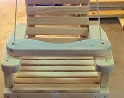 wooden swing etsy
