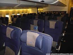 Boeing 777 Interior British Airways New Economy London To Singapore U2013 Ba15 U2013 Boeing
