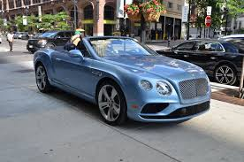 blue bentley 2016 2016 bentley continental gtc stock gc1917 for sale near chicago