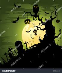 halloween design background greenish halloween background stock vector 111277163 shutterstock