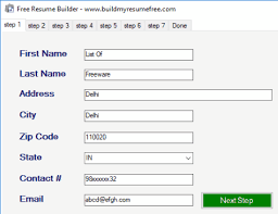 Free Resume Builder Software 9 Best Free Resume Building Software For Windows