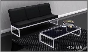 glass coffee table set of 3 modern living room set 3 seats sofa plus glass coffee table for