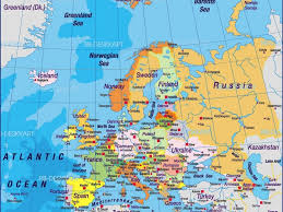 eastern europe new all countries in map all countries in europe