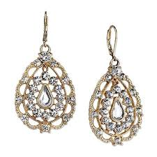 pear drop earrings 2028 gold tone filigree pear shaped drop earrings 1928