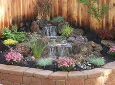 Small Backyard Ponds And Waterfalls by Going To Tear Out My Little Waterfall And Add This One I Think