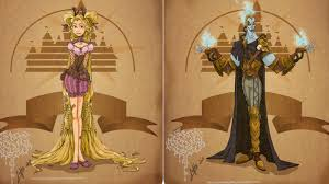 artist reimagines disney characters in steampunk style mindhut