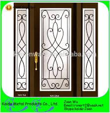 ornamental iron door grilles inserts wholesale buy